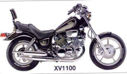 1985 Virago 1100 Photos Bing Images Repair Manuals Bike Drawing Yamaha