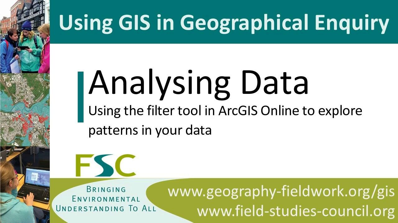 Using the filter tool in ArcGIS Online