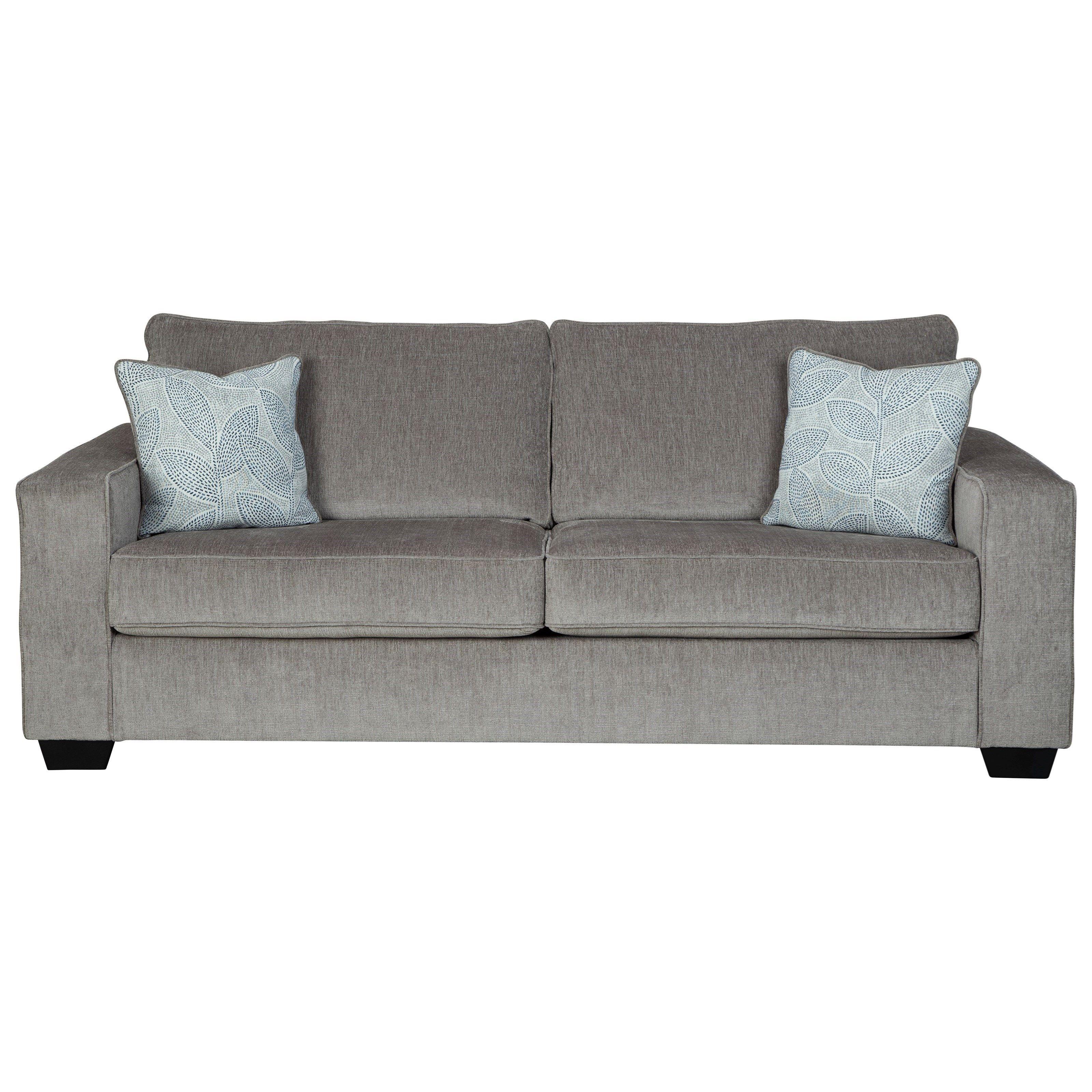Altari Queen Sofa Sleeper With Memory Foam Mattress By Signature