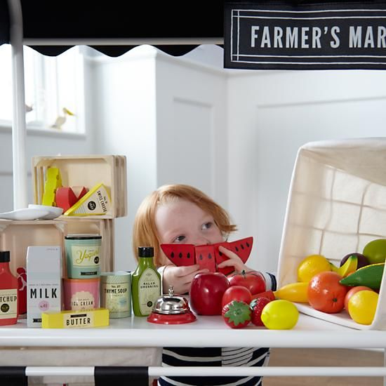 Pantry Play Food The Land Of Nod Crate And Barrel Crates Baby Store