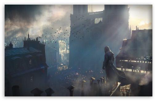 Assassin's Creed Unity Concept Art wallpaper
