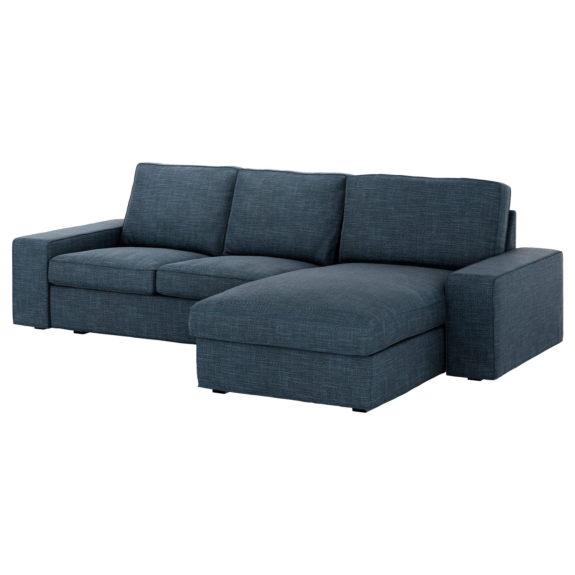 Kivik Sofa With Chaise Hillared Anthracite Ikea Too Small