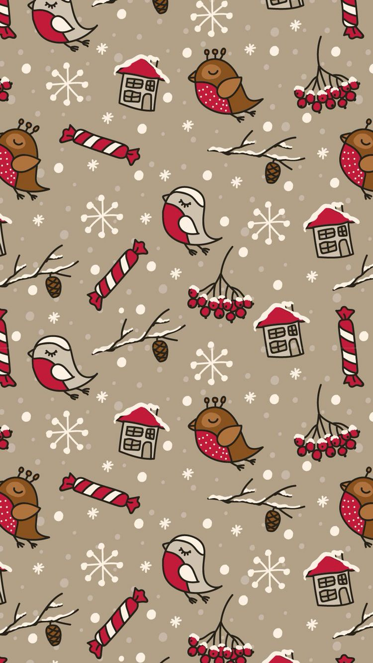 Pin by Thao Tran on Pattern Christmas phone wallpaper