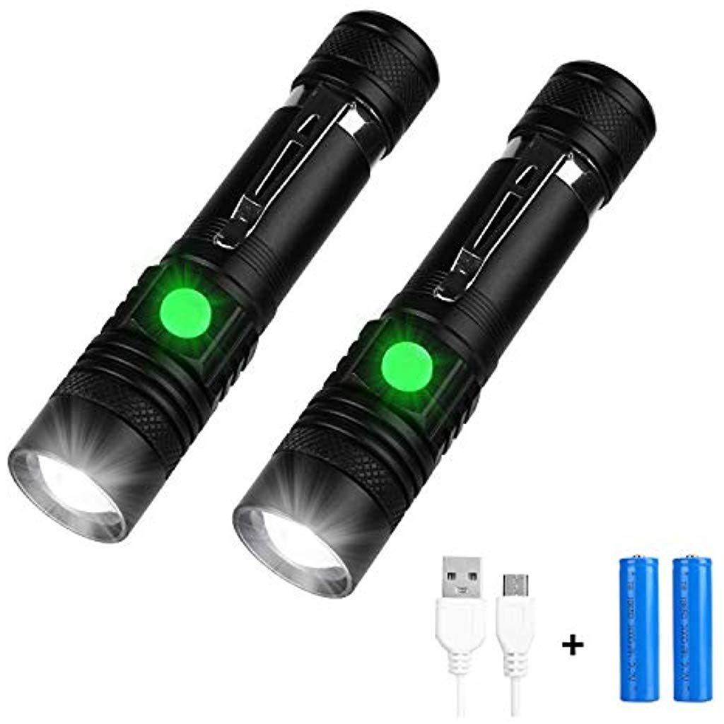 USB wiederaufladbar T6 LED Flashlight Taschenlampen Licht Fackel 18650 Akkru