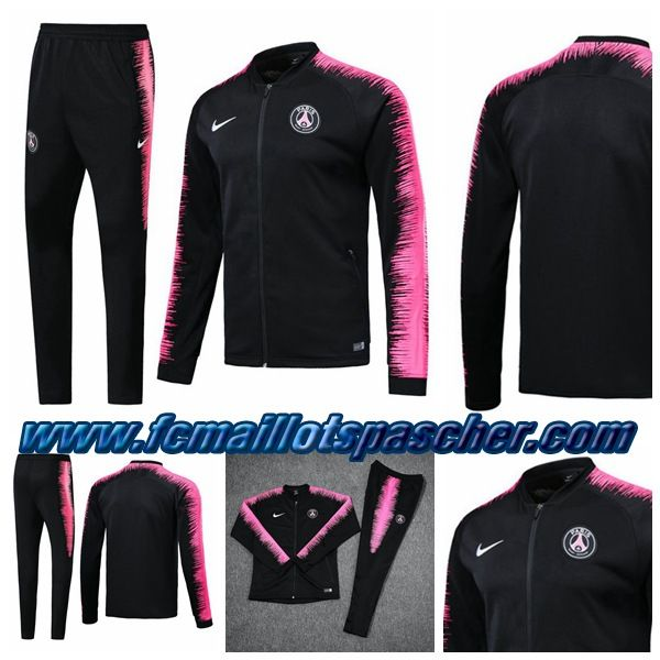 nike ensemble jogging noir