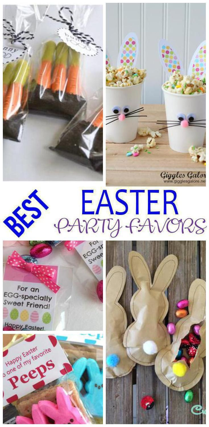 Easter party favors easter party church events and goodie bags negle Choice Image