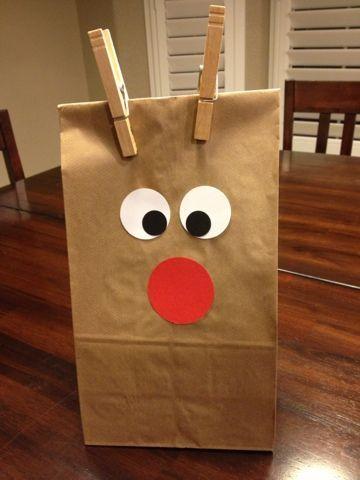 Paper Bag Christmas Craft Ideas Nemetasfgegabeltfo