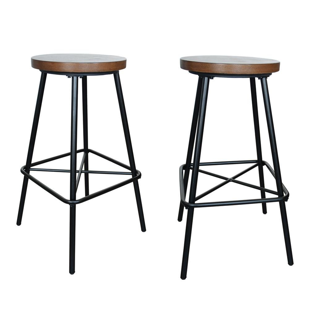 Outstanding Illona 30 In Elm Bar Stool Set Of 2 Products Bar Pabps2019 Chair Design Images Pabps2019Com