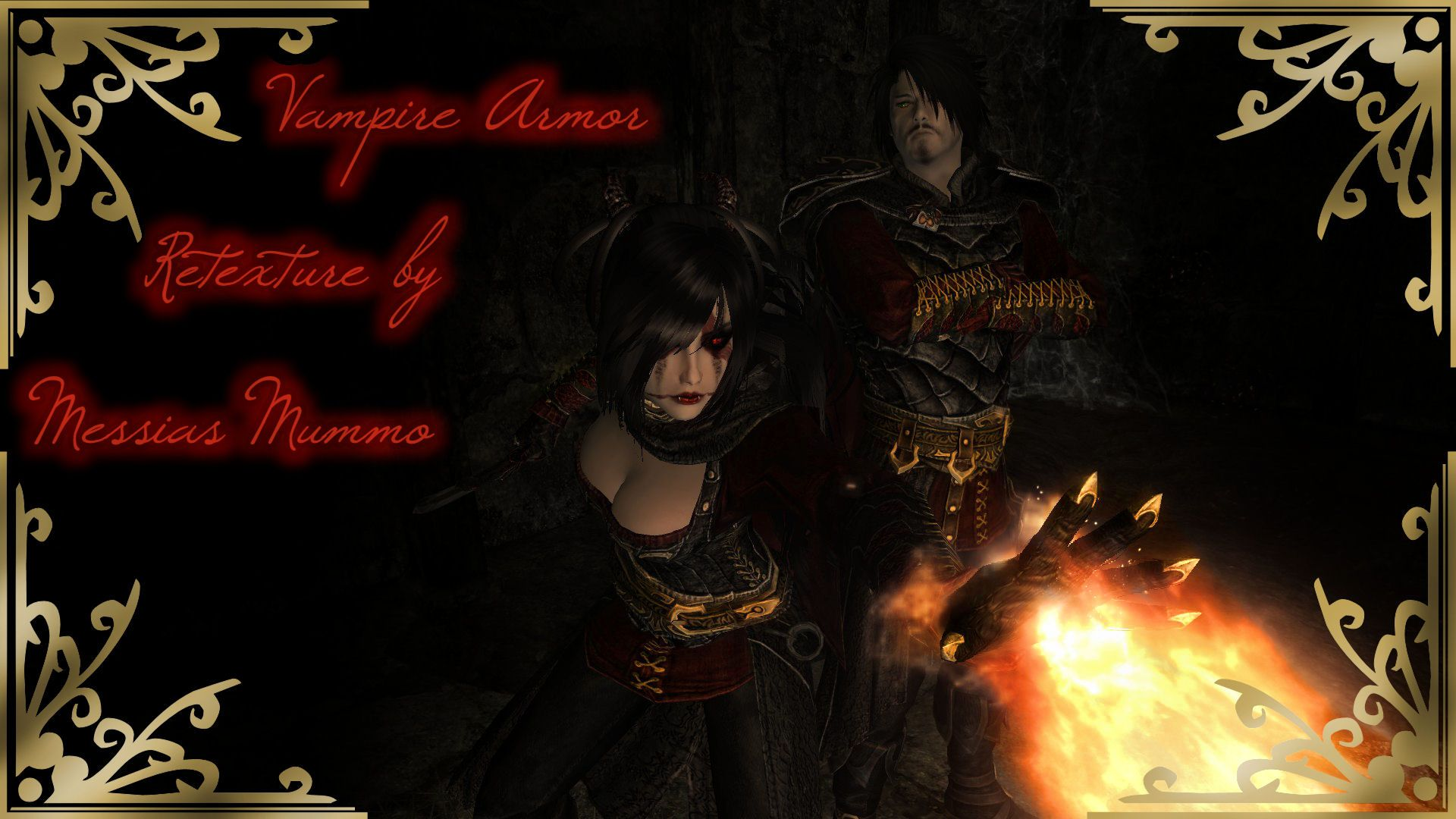 Dawnguard Vampire Armors Retexture Skyrim Mods Skyrim Mods