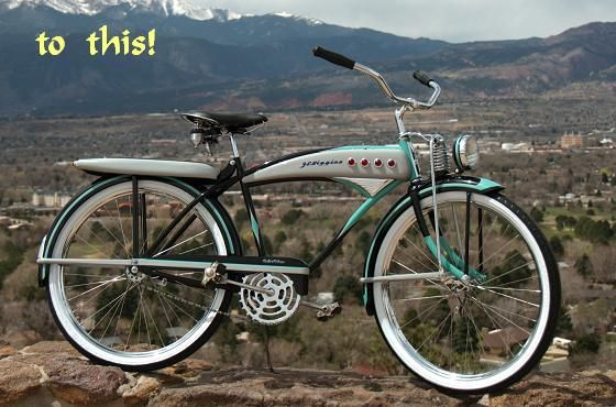 Bicycle Restoration Projects Put Them Back To Life Bicycle