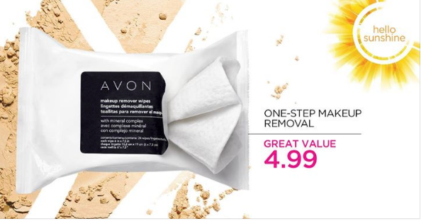 EASY DEAL One Step Makeup Removal with Avon Makeup