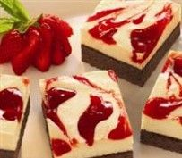 Strawberry Cheesecake Brownies | Recipes by Amy Tobin