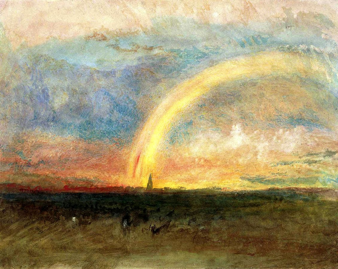 Image result for turner paintings of rainbows