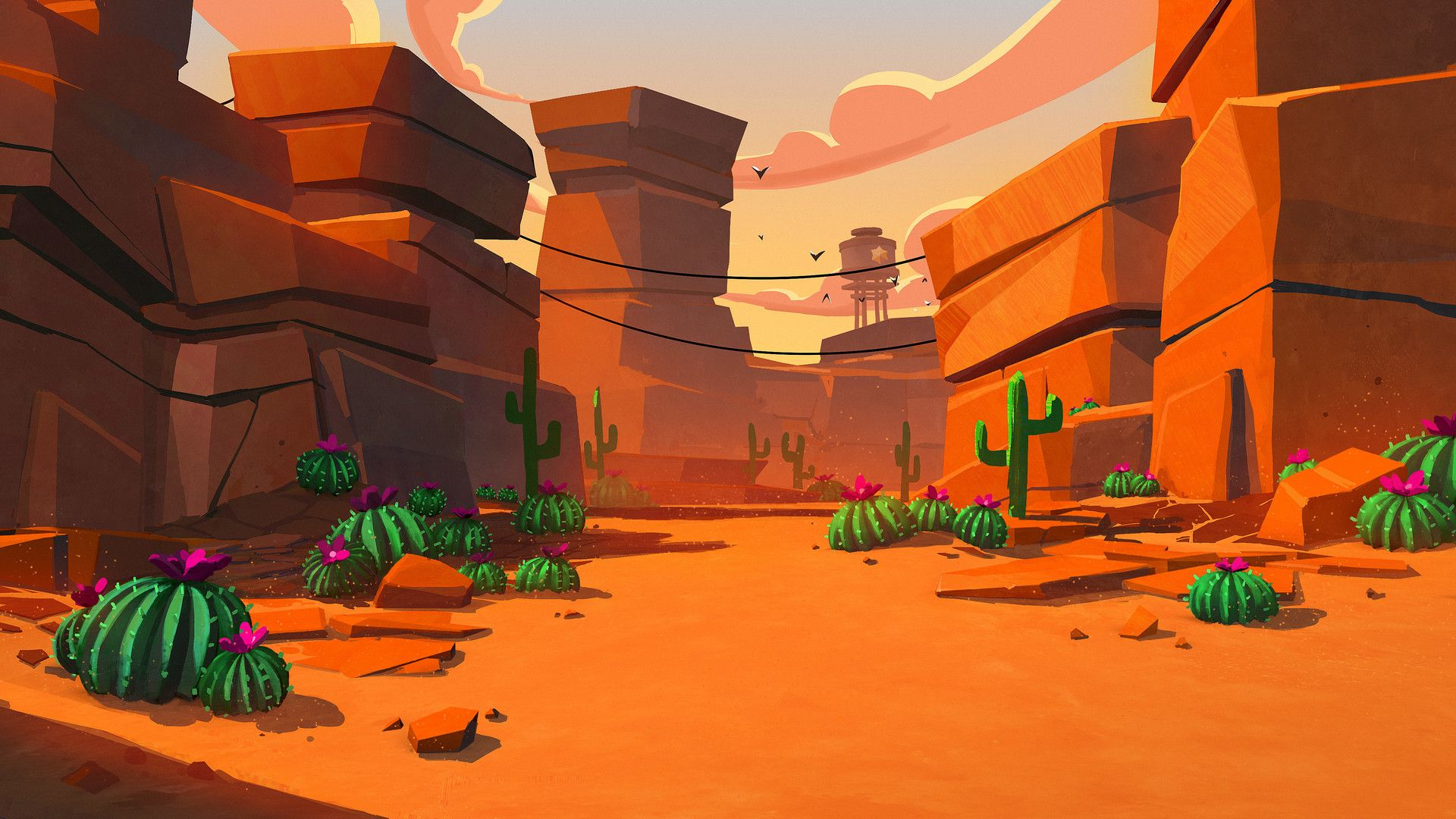 Artstation Brawl Stars Environment Art Tim Kaminski Gameart в