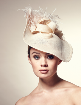a528d0bdede98 Rosie Olivia London Hat Designer creates luxurious