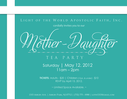 Mother Daughter Tea Party A Charity Pinterest Tea parties