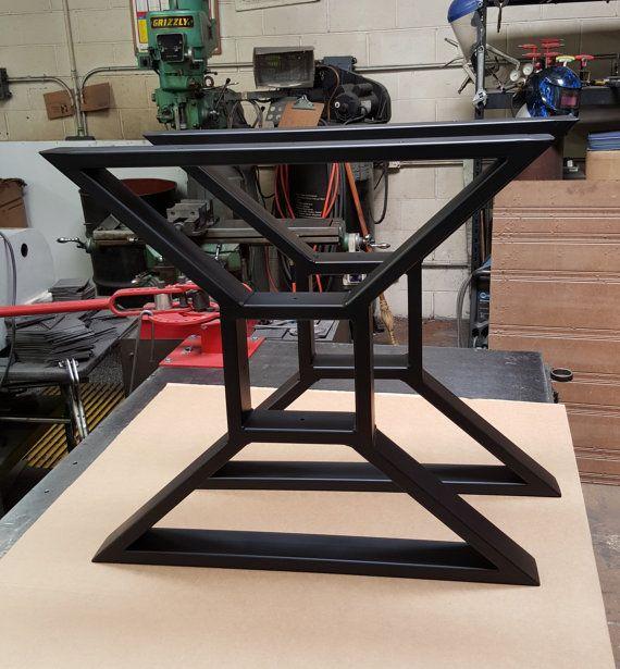 Custom order for Barry Yarbrough Modern Dining Table X Legs  Ideas para el hogar  Pinterest  Mesas Comedores y Muebles