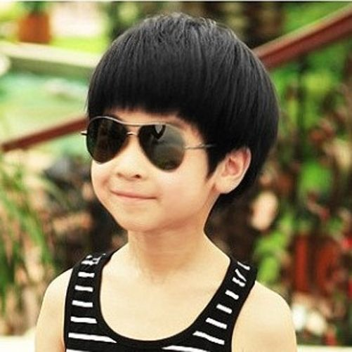 New Band Fashion Children Boys Synthetic Hair Wigs