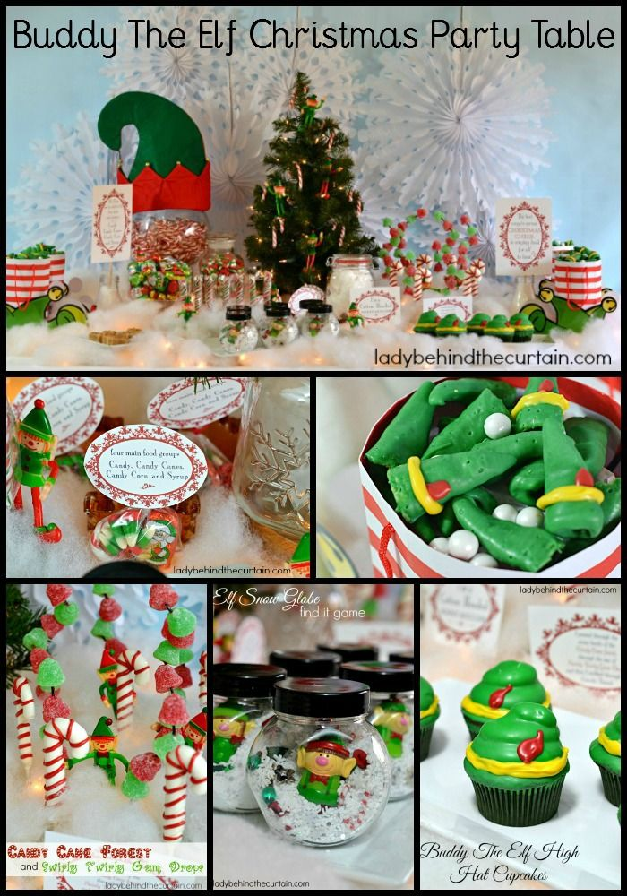Buddy The Elf Christmas Party Table Blogs We Love Christmas