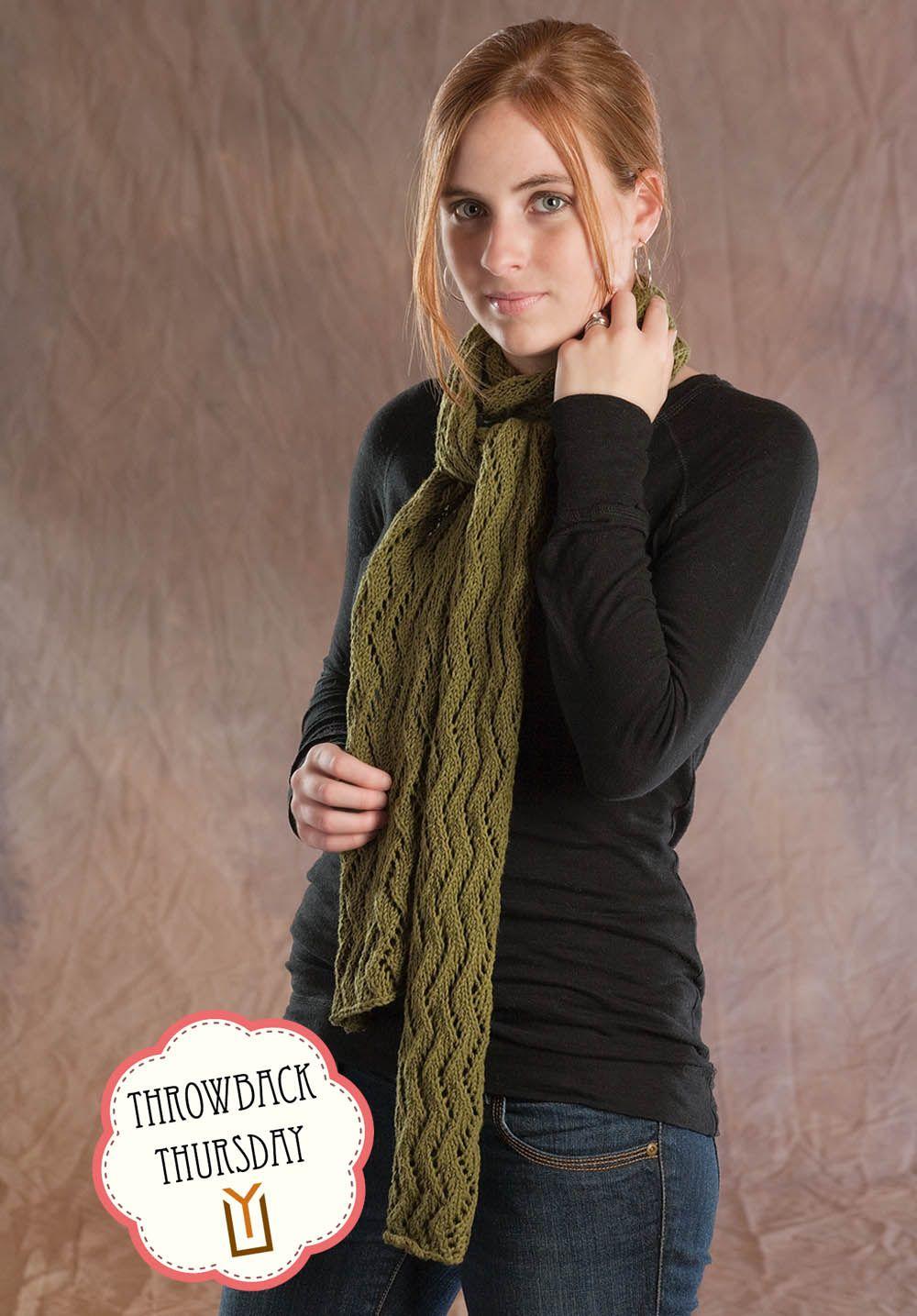 Free Knitting Pattern - Zig Zag Lace Scarf | knitting and yarn ...