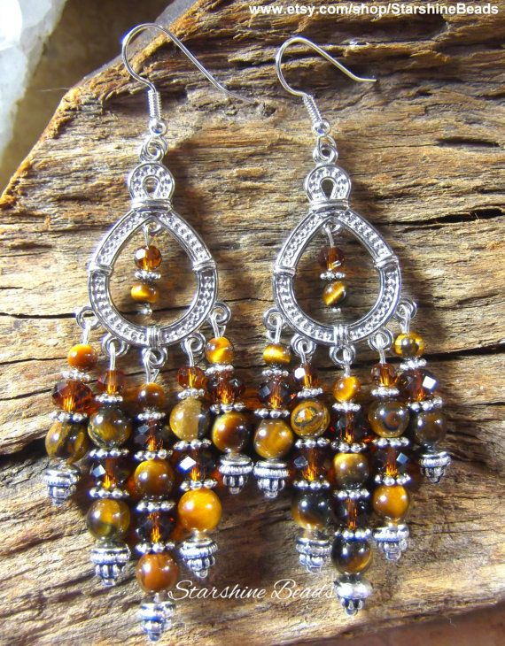 Hey, I found this really awesome Etsy listing at https://www.etsy.com/listing/238835127/tigers-eye-chandelier-earrings-tigers