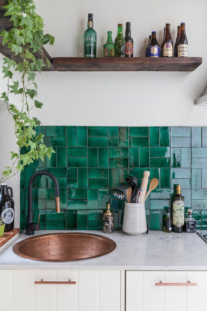Zellige Is The Tile Trend Taking 2019 By Storm Green Kitchen