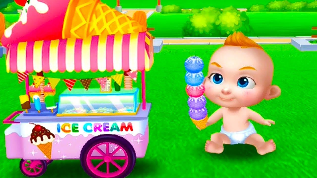 bad baby boss care and play funny games for kids cartoon for kids