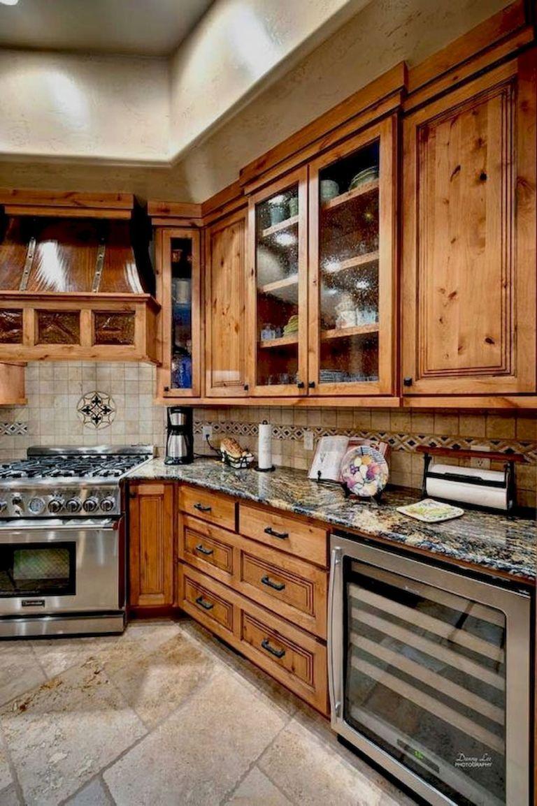 40 Best Farmhouse Kitchen Cabinets Design Ideas (33 ...
