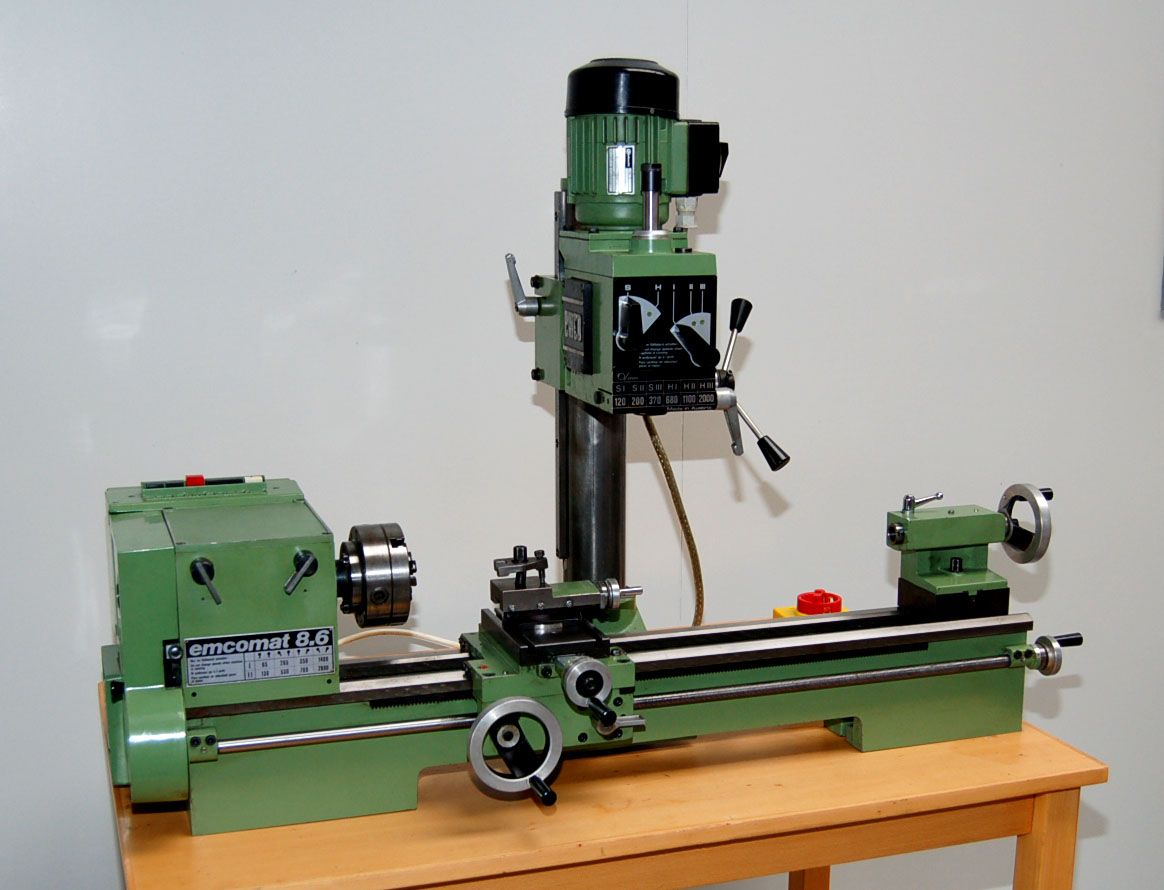 Endboring Attachment Grizzly Lathe Mill Combo - Year of