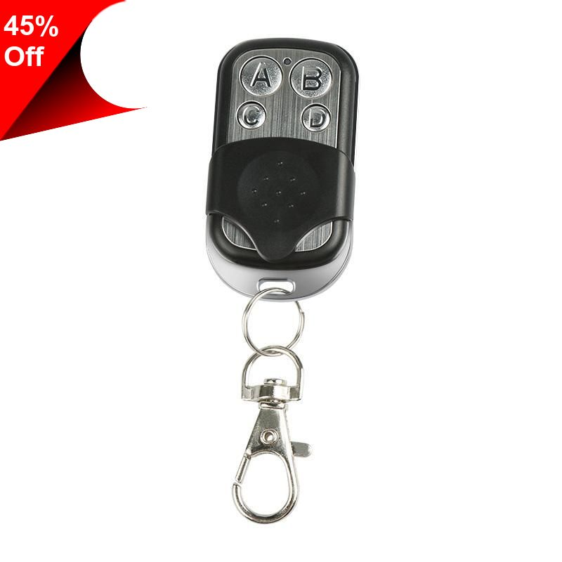 Only 1 99 Dc 12v Portable 433mhz Garage Door Remote Control Presentation Universal Car Gate Learning Code Remote Duplicator Opener Key Fob Dengan Gambar