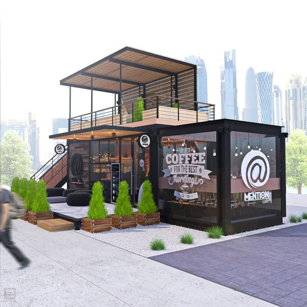 Image May Contain Tree And Outdoor Desain Eksterior Rumah Indah Rumah Kontainer