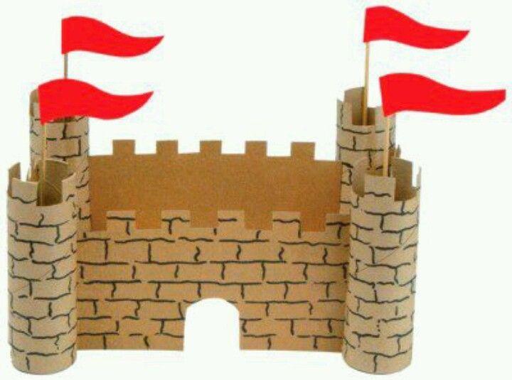 Castillo manualidades infantiles pinterest castillos - Manualidades castillo medieval ...