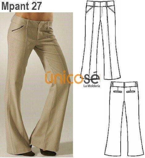 Moldes Unicose Pantalones De Vestir Mujer Pantalones De Moda Ropa