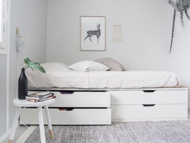 IKEA HACK: LASTENHUONEEN SÄILYTYSRATKAISU + SÄNKY