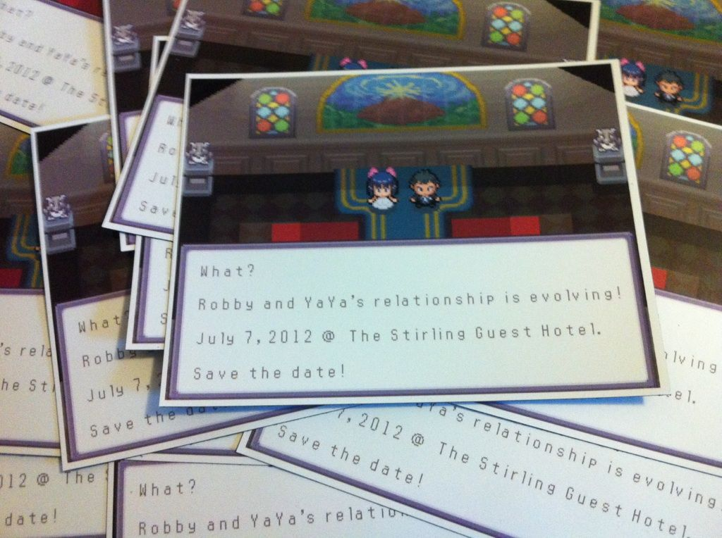 11 Great Video Game Wedding Invitations | Weddings, Wedding and ...