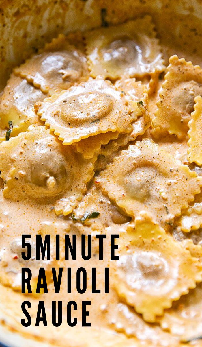 5 Minute Ravioli Sauce