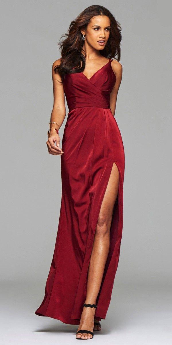 567145319c8 Faviana 7755 Satin Prom Dress - Faviana - 7755 -  318.00