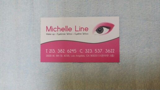 Michelle Line.3D permanent eyebrow