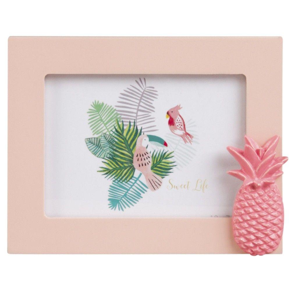 Marco de fotos 10x8 piña rosa de la colección Sweet Tropical. Ref ...