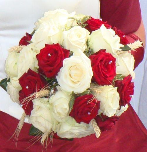 Ma récap mariage thème cinéma, couleurs rouge et blanc