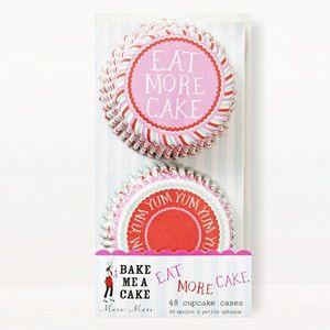 Eat More Cake & Yum Yum Baking Cases – Shop Sweet Lulu