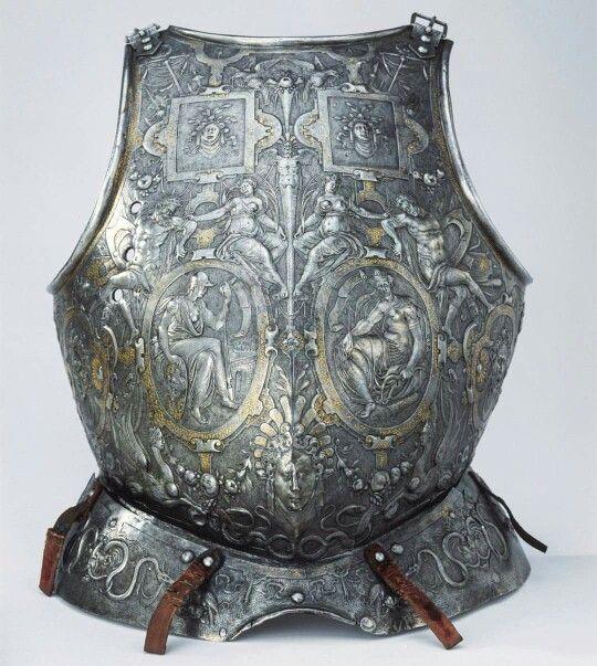 Parade armour of Erik XIV of Sweden. 1562