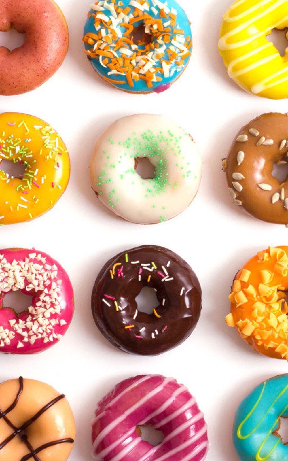 Fondo de pantalla dona (donut). \u2026 Pinteres\u2026