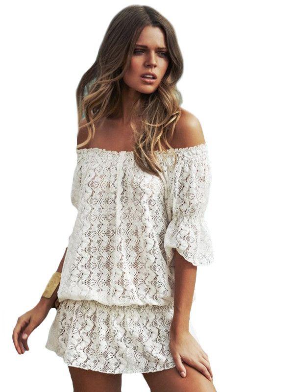 Acheter une robe blanche pas cher