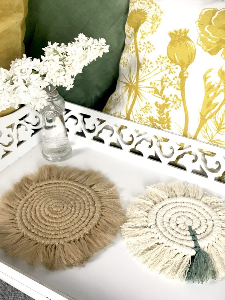 Photo of DIY: Make snail-shaped macrame coasters yourself – Chalet8