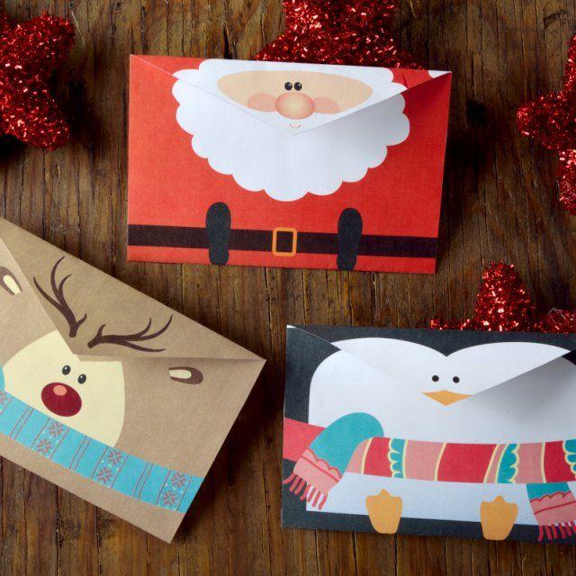 cómo hacer tarjetas navideñas para imprimir decoración navideña