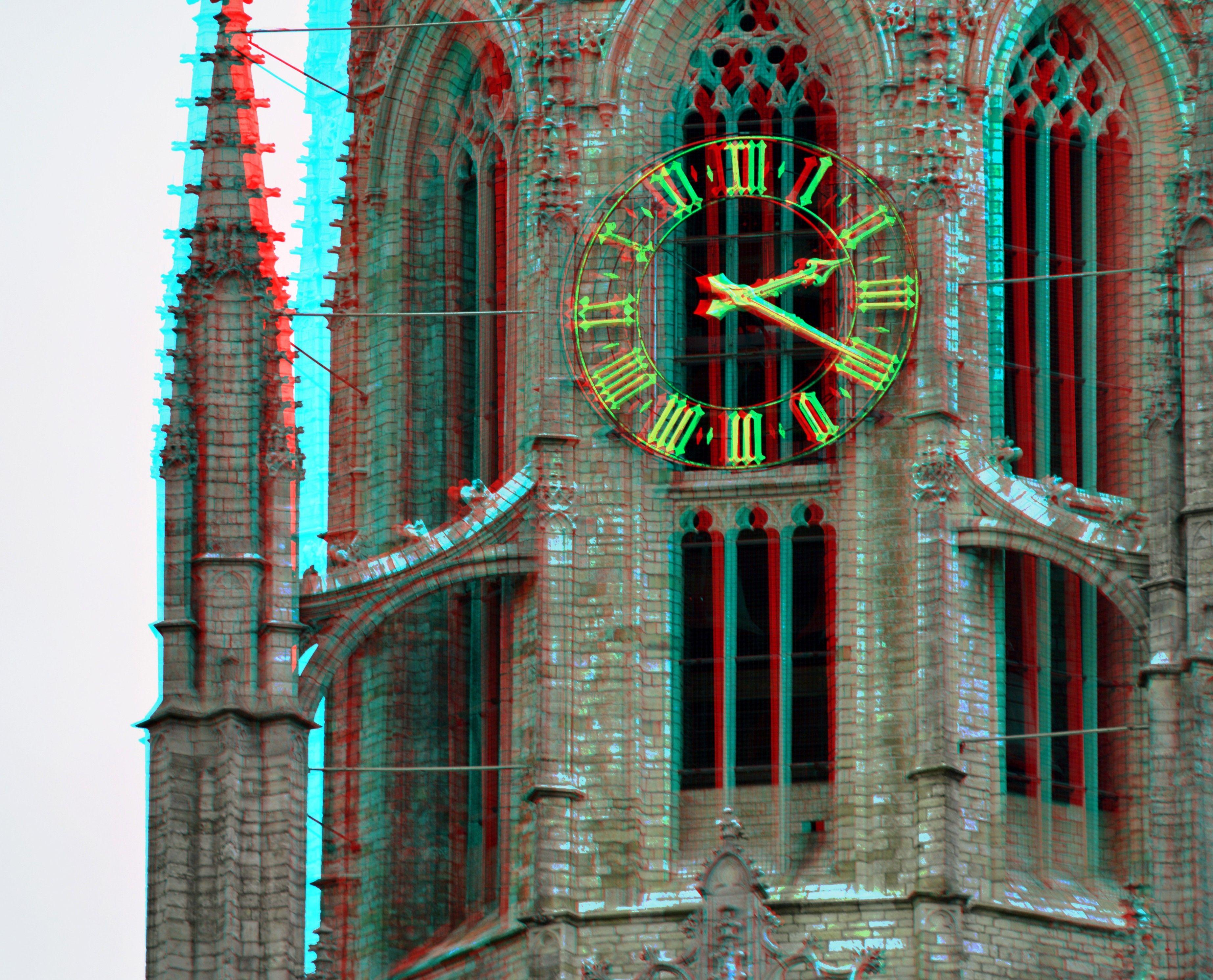 Toren Grote Kerk Breda 3D