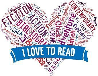 I love to read...