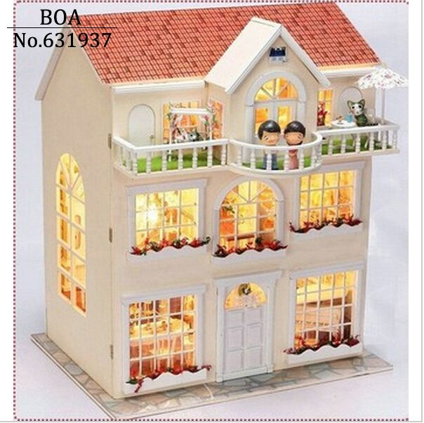 building doll furniture. free shipping buy best diy doll house dream fairy model building furniture