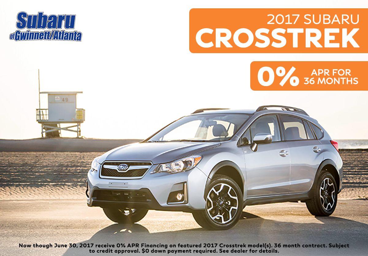 The 2017 Subaru Crosstrek is ready for anything. Subaru